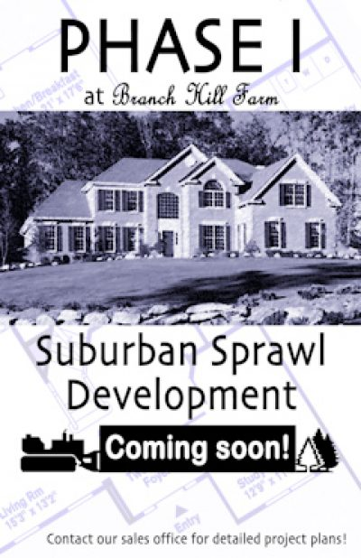 Suburban Sprawl Development, Phase I, 2003
