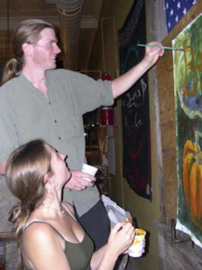 Flatbread Community Painting Night, 2006