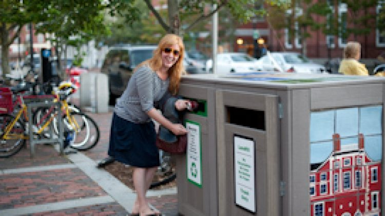 Zero Waste Portsmouth Trash & Recycling Stations City of Portsmouth, NH, 2011